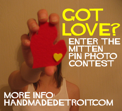 Mitten Pin Photo Contest