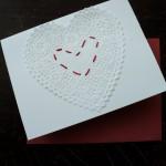 Handmade paper Valentine tutorial