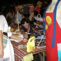 Good gravy. I promise my next craft fair booth will look 100 times better. DUCF 2007, Majestic Theater.