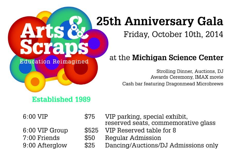 Arts and Scraps Gala 2014