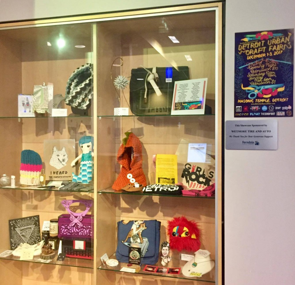 Ferndale Library Showcase Window