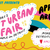 Detroit Urban Craft Fair Applications Open 2018